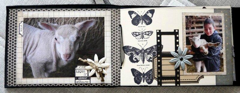 mini album se souvenir des belles choses pages 2 et 3