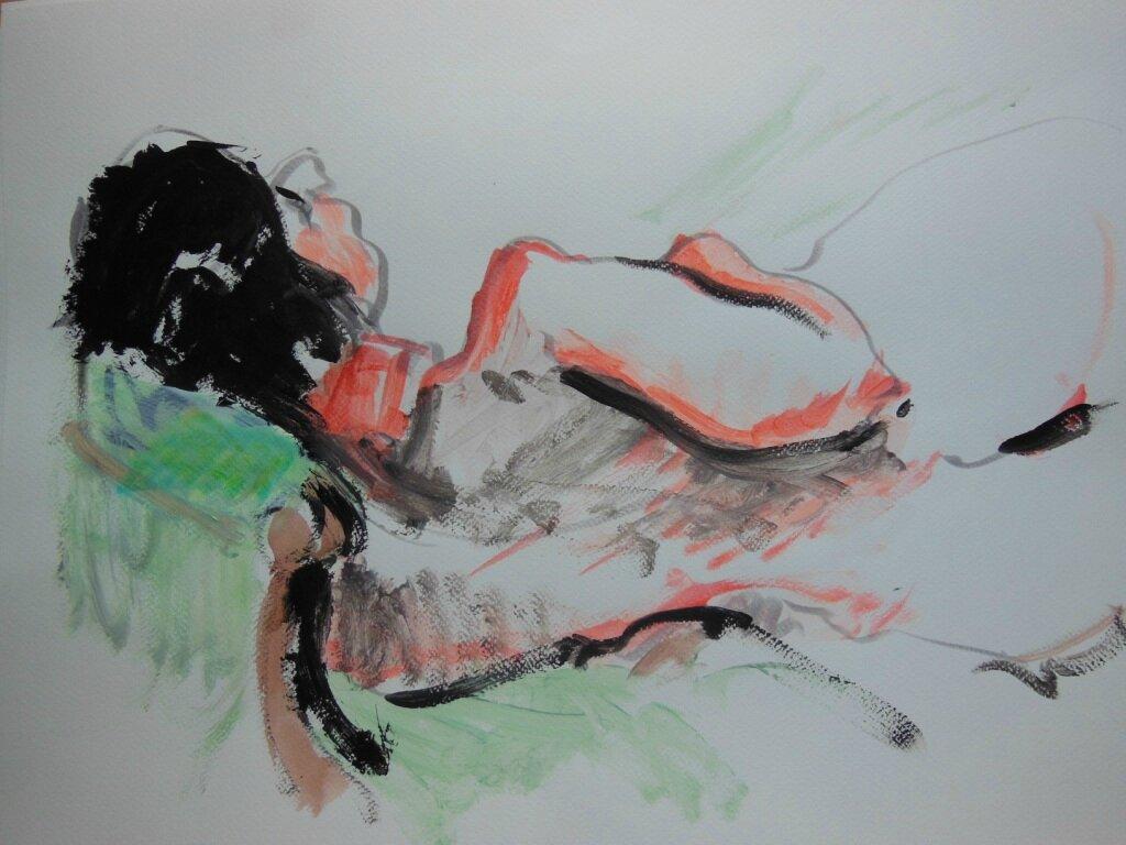 tableaux de nus artistique peinture dessin 16