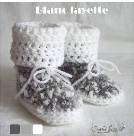 chaussons bebe bottes 06