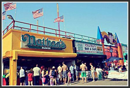 Nathan's hot-dog