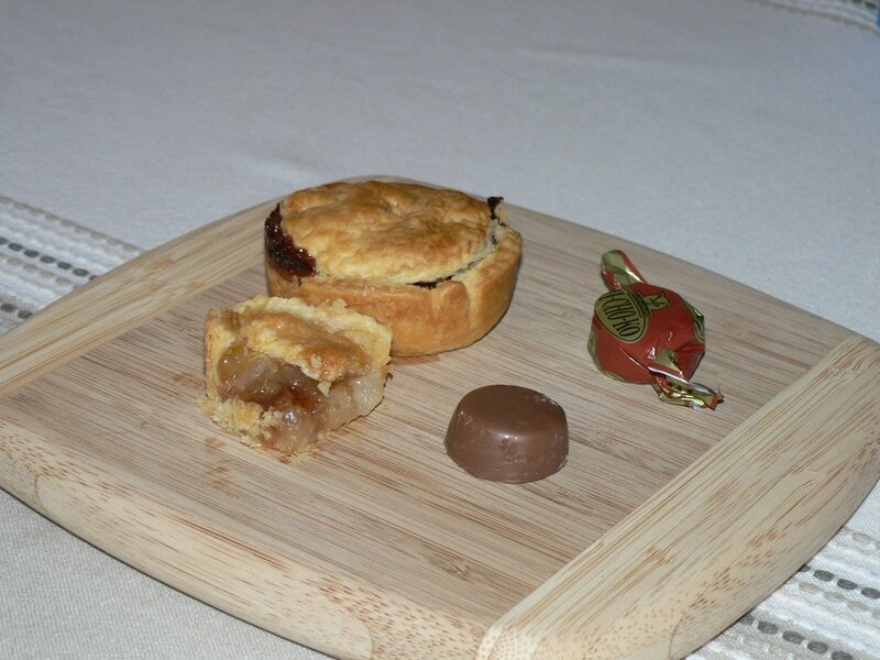 pie ou mini tourte poire michoko