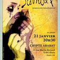 Samantha lavital en concert à la crypte ararat - vendredi 21 janvier - 20h30