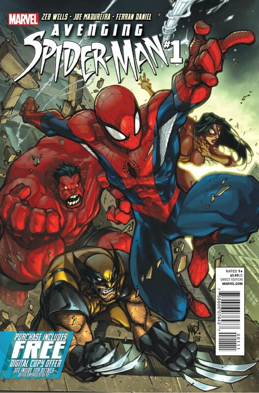 avenging spiderman 01