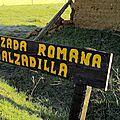 15_Chemin avant RELIEGOS_panneau Calzada Romana