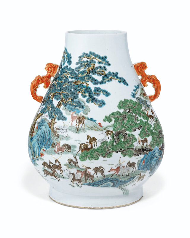 2019_NYR_16950_1104_004(a_pair_of_famille_rose_hundred_deer_hu-form_vases_19th_century)