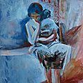 Exposition de l'artiste brésilienne lucia mamos-moreaux
