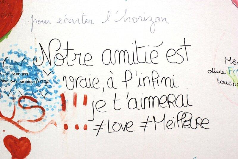 Coulommiers bibliothèque mur d'expression poétique clicfoto Francis Dechy juin 2014 03
