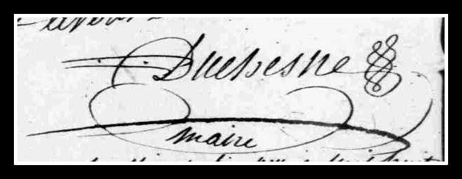 DUCHESNE signature
