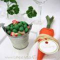- déco de table - bonbons petits pois au lard - boutique créative - www.coeurdartichaut.com
