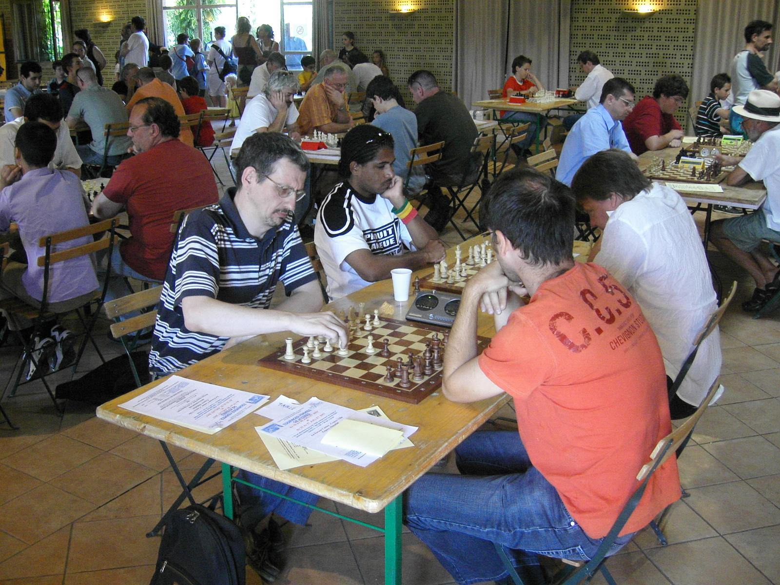 Grand Prix Arcois 2007 (54) Laurent Milesi vs Karoly Olah