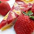 Tarte fraise banane