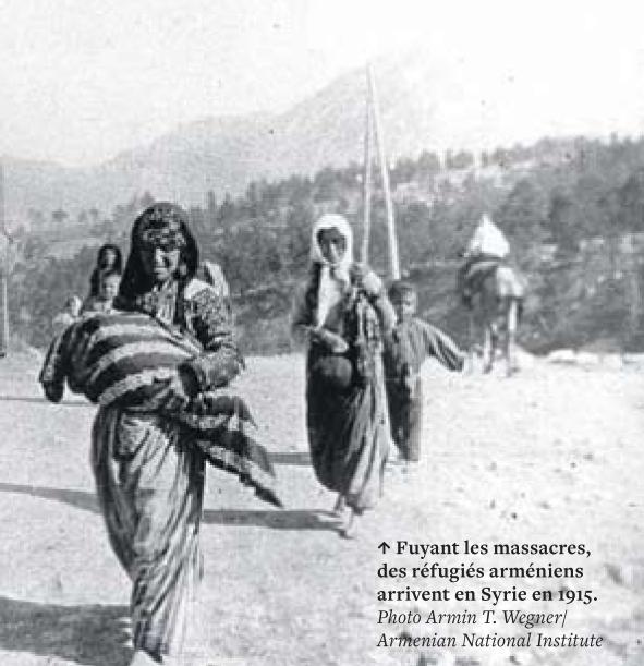 Fuite des Arméniens en Syrie