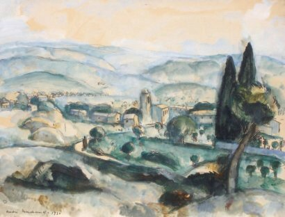 Marchand paysage