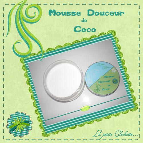 mousse douceur coco
