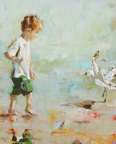 beach susie pryor seagulll