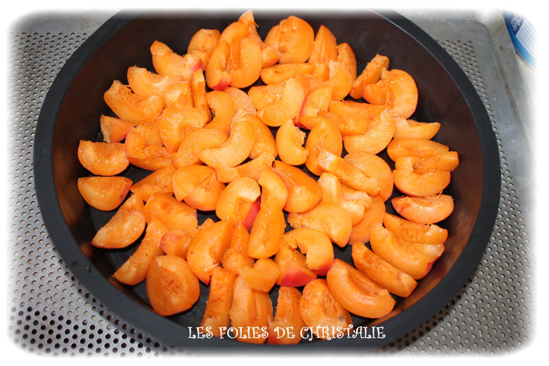 Gâteau magique abricots 1