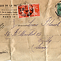 L'argus de la presse 1909 . louis bleriot .
