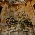 La fontaine du Gros-Horloge.