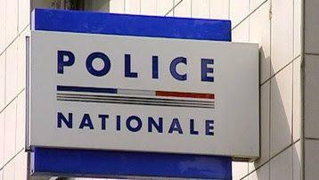 Police enseigne de commissariat