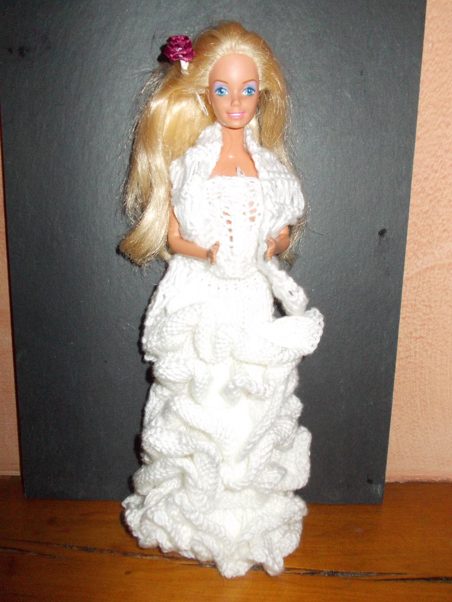 Barbie en mariée