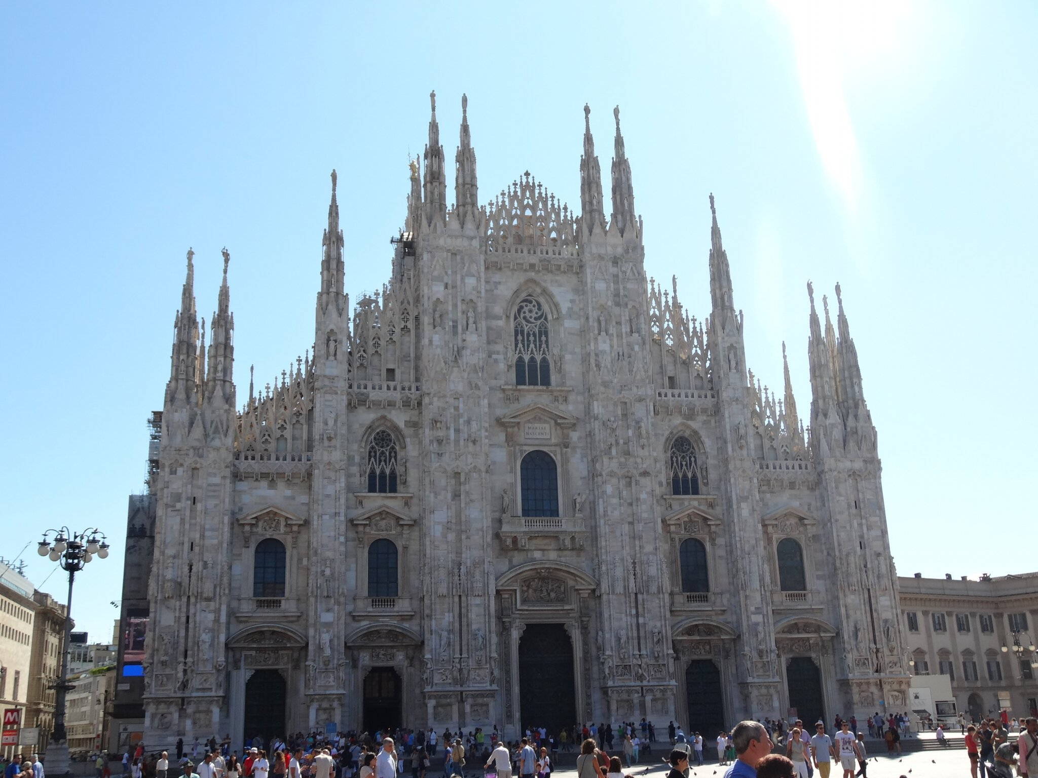 Séjour Milan et les lacs italiens - août 2014 (1ère partie - Milan)
