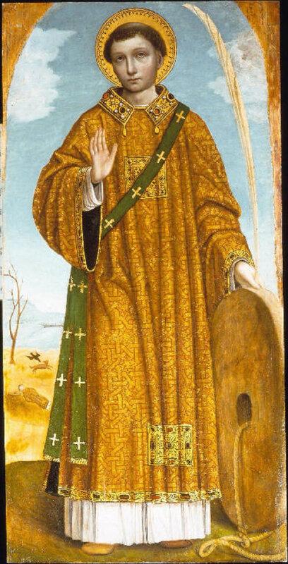 L'histoire de l'Abbaye de Nieul, Légende de Saint Vincent de Saragosse, patron de l'abbaye de Nieul