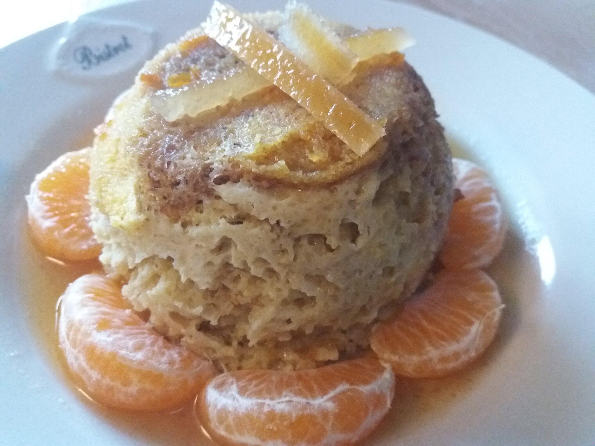 Un nouveau bowlcake avec de la polenta (et oui !)