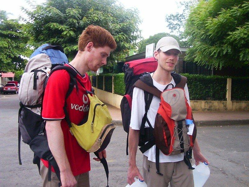 001 Depart de Managua pour l´ile d´Ometepe