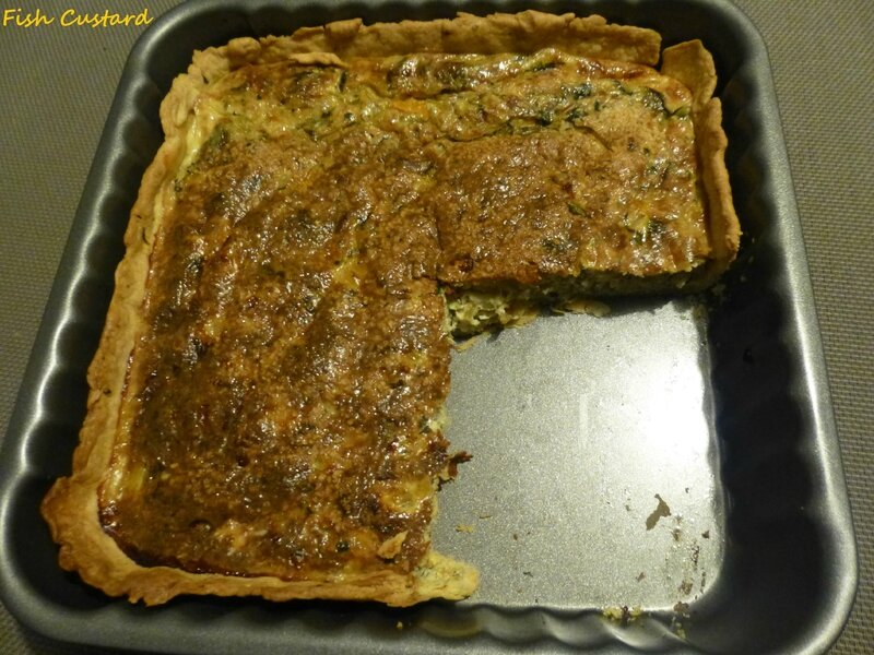 Quiche à l'avocat antillaise (7)