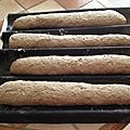 Baguettes, petits pains ronds....