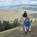 Randonnée à Specimen Ridge