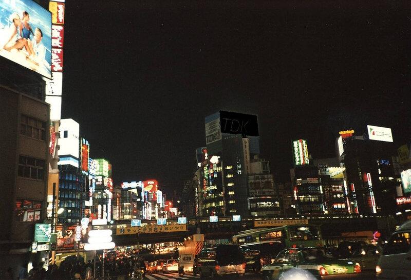 Canalblog Tokyo01 19970410 Shinjuku By Night