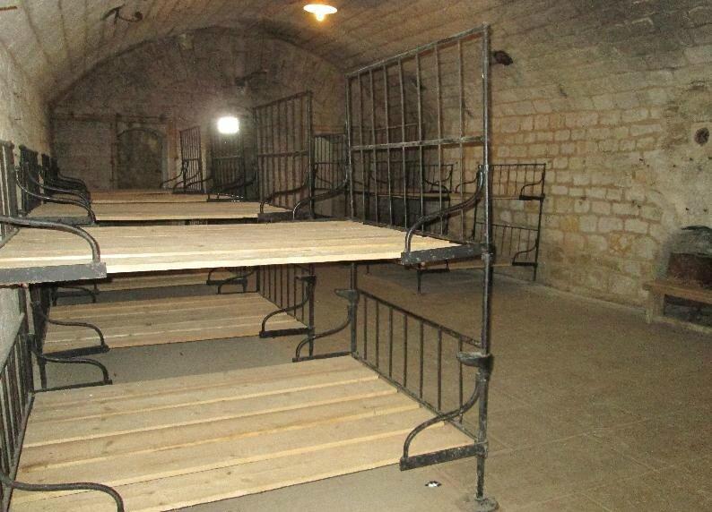 04 lits au fort de Douaumont