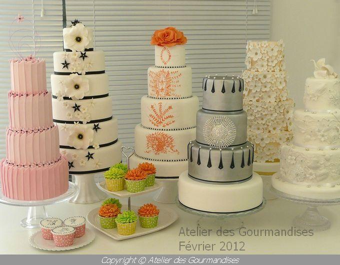 Wedding Cakes Atelier Des Gourmandises