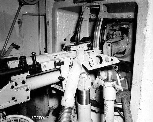 MG 37 vue intrieur d'une casemate