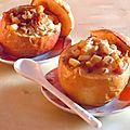 Pommes salées au pain d'épices