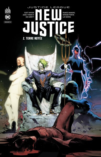 justice league new justice 02 terre noyée