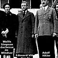 1936 - le gouvernement britannique ecarte du trone le pro-nazi edouard viii