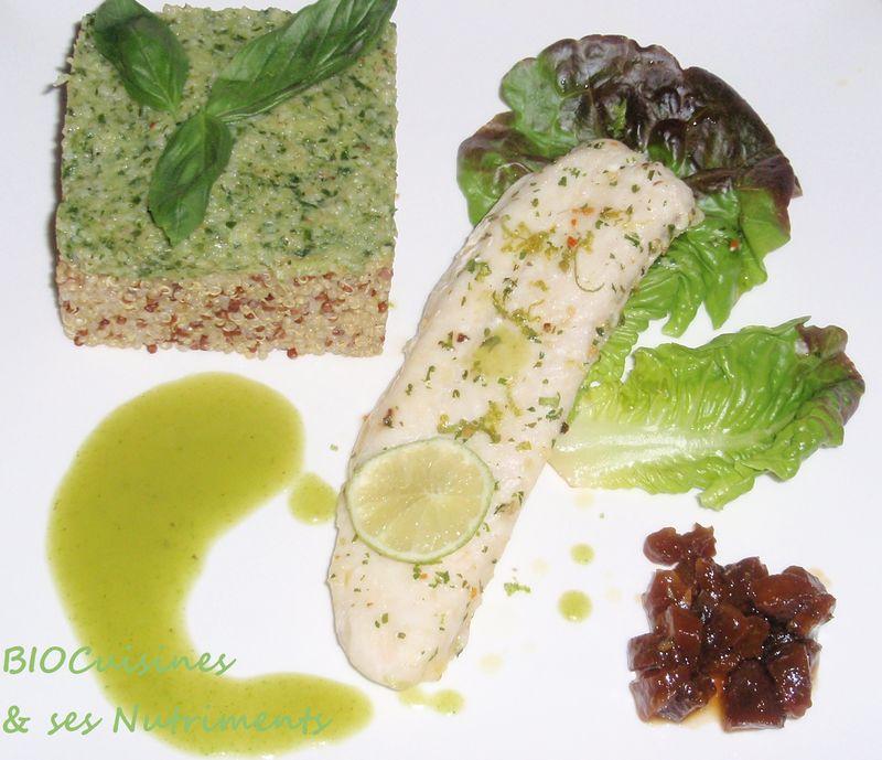 quinoa & poisson