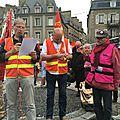 Loi travail : 8ème journée de manifestation à avranches - jeudi 26 mai 2016