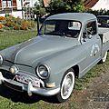 Simca aronde intendante 1954-1955