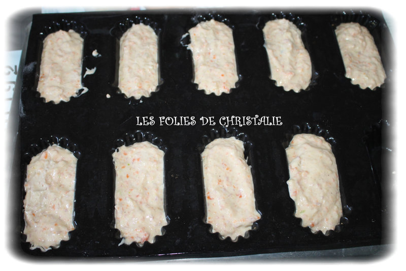 Cakes jambon courgettes 7