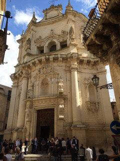 Pouilles Lecce San Matteo Façade