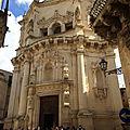 Richesse des pouilles et de l'apulie (22/24). lecce – san matteo, santa chiara et santa croce.
