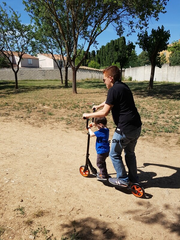 funbee family trottinette 2 places 3ans