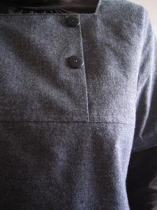 Robe Pochee lin & coton