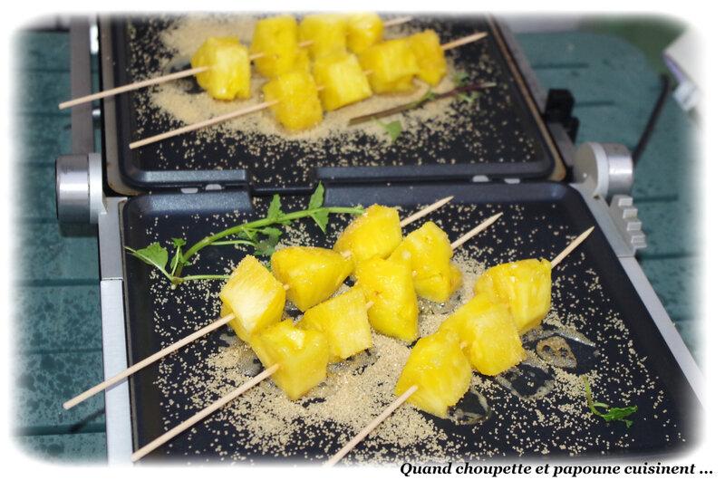brochettes d'ananas façon mojito-5054