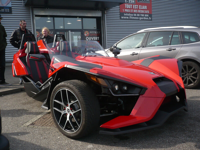 POLARIS Slingshot roadster plein-air Mulhouse (1)