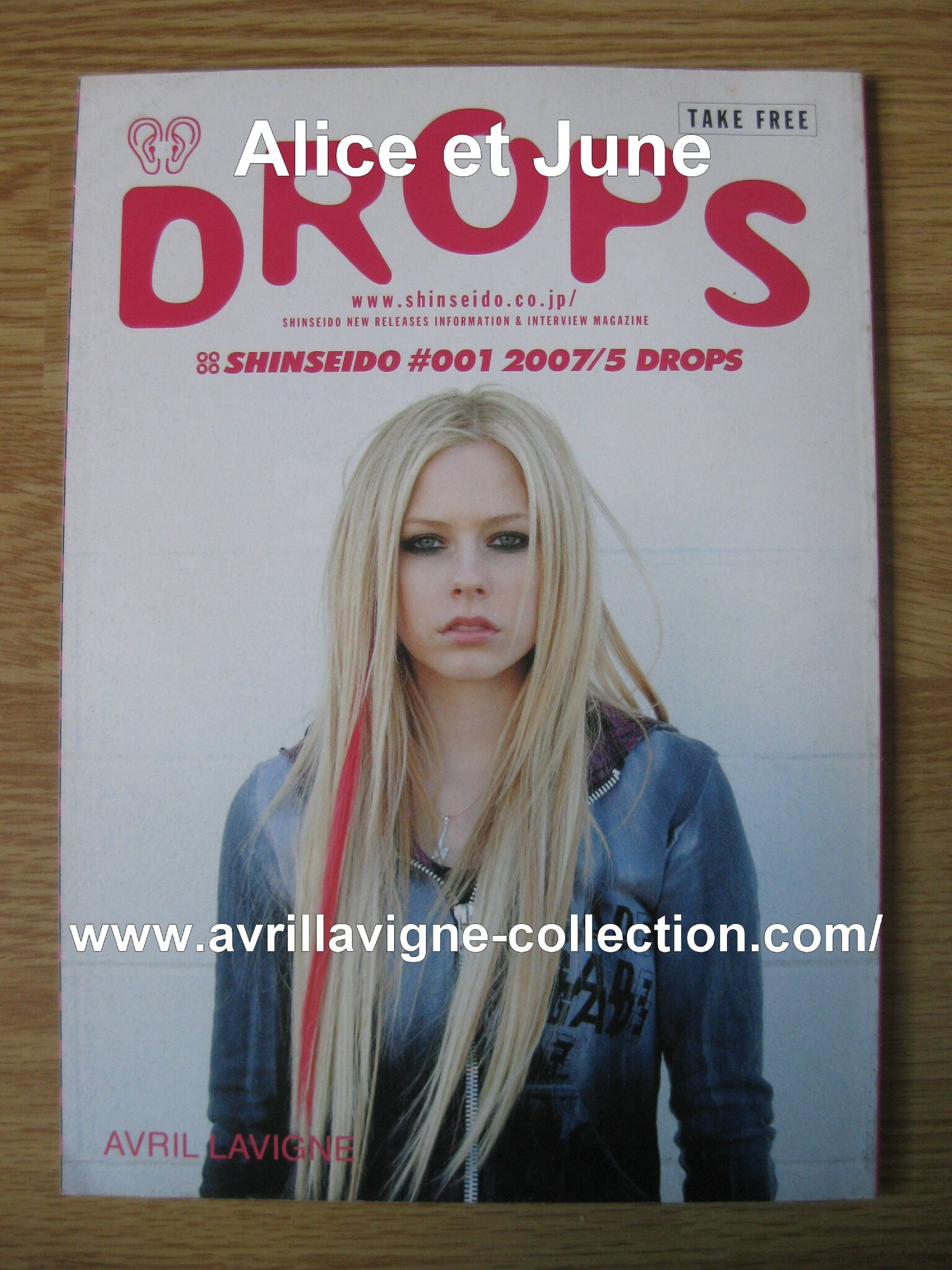 Drops magazine-Japon (mai 2007)
