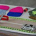 Mini garage au crochet